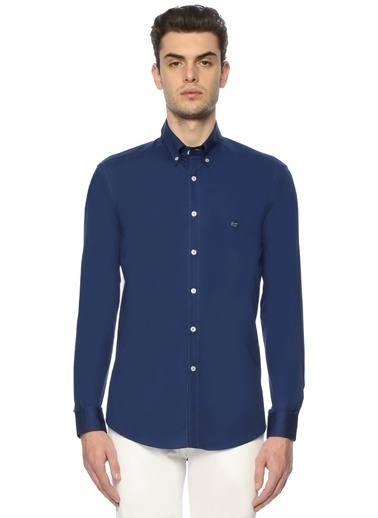 Etro Uzun Kollu Gömlek Mavi